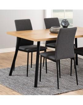 ROYAL jídelní stůl rozkládací - dub sonoma, pro 8 osob