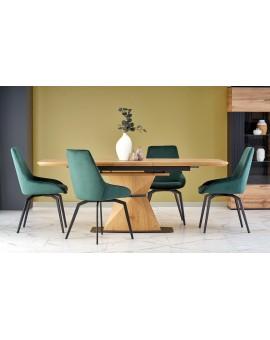 LINK beton (šedá) / bílá, konferenční stolek